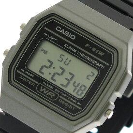 カシオ CASIO 腕時計 時計 メンズ レディース F-91WM-1B クォーツ ブラック【ポイント10倍】