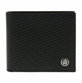 ダンヒル DUNHILL 二つ折り財布 メンズ L2V332A ブラック【ポイント10倍】