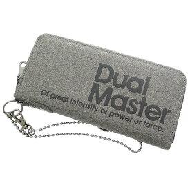 5f43b9464a6e デュアルマスター DUAL MASTER 長財布 メンズ ML-0294-GY グレー