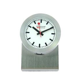 モンディーン MONDAINE 置き時計 A660.30318.81SBB シルバー【ポイント10倍】