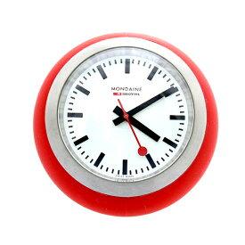 モンディーン MONDAINE 置き時計 A660.30335.16SBC レッド【ポイント10倍】