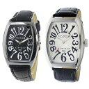 ペアウォッチ フランク三浦 腕時計 時計 メンズ レディース インターネッツ別注 クォーツ ブラック ホワイト fm00it-b…