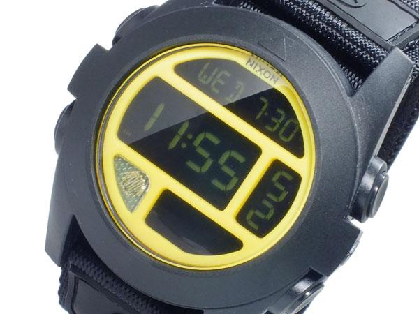 ニクソン NIXON バジャ BAJA デジタル メンズ 腕時計 A489-293 BLACK YELLOW ブラック×イエロー イエロー【送料無料】【ポイント10倍】