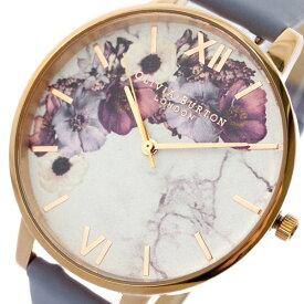 オリビアバートン OLIVIA BURTON 腕時計 レディース OB16MF10 クォーツ ホワイト ライトブルー ホワイト【送料無料】【ポイント10倍】