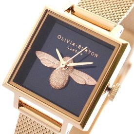オリビアバートン OLIVIA BURTON 腕時計 レディース OB16AM96 クォーツ ダークネイビー ピンクゴールド ダークネイビー【送料無料】【ポイント10倍】