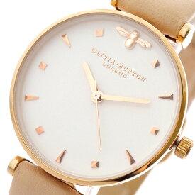 オリビアバートン OLIVIA BURTON 腕時計 レディース OB16AM95 クォーツ ホワイト ピンク ホワイト【送料無料】【ポイント10倍】