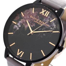 オリビアバートン OLIVIA BURTON 腕時計 レディース OB16AD15 クォーツ ブラック グレー ブラック【送料無料】【ポイント10倍】