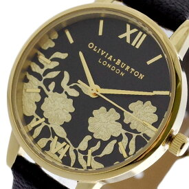 オリビアバートン OLIVIA BURTON 腕時計 レディース OB16MV60 クォーツ ブラック ブラック【送料無料】【ポイント10倍】