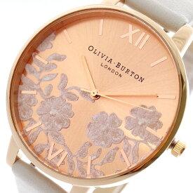 オリビアバートン OLIVIA BURTON 腕時計 レディース OB16MV53 クォーツ ホワイト ピンクゴールド ホワイト【送料無料】【ポイント10倍】