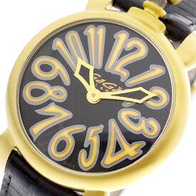 ガガミラノ GAGA MILANO 腕時計 レディース 6023.02LT マヌアーレ 35MM クォーツ ブラック ブラック【送料無料】【ポイント10倍】