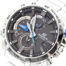 カシオ CASIO 腕時計 メンズ EQB-800D-1A エディフィス EDIFICE クォーツ グレー シルバー グレー【送料無料】【ポイント10倍】