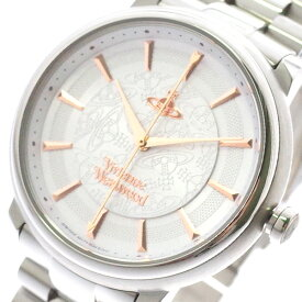 ヴィヴィアンウエストウッド VIVIENNE WESTWOOD 腕時計 レディース VV196SLSL クォーツ ホワイト シルバー ホワイト【送料無料】【ポイント10倍】