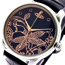 ヴィヴィアンウエストウッド VIVIENNE WESTWOOD 腕時計 レディース VV197NVNV クォーツ ネイビー ブラック ネイビー【送料無料】【ポイント10倍】