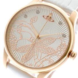 ヴィヴィアンウエストウッド VIVIENNE WESTWOOD 腕時計 レディース VV197RSWH クォーツ ホワイト ホワイト【送料無料】【ポイント10倍】