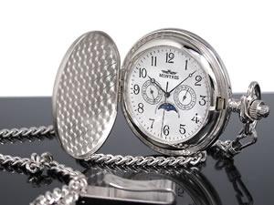 モントレス MONTRES 懐中時計 サテン 923-SV-A【楽ギフ_包装】【ポイント10倍】