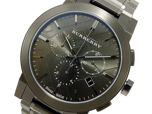 バーバリー BURBERRY クオーツ メンズ クロノ 腕時計 BU9354【楽ギフ_包装】【送料無料】【ポイント10倍】