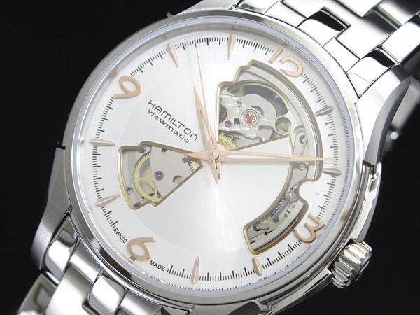 ハミルトン ジャズマスター オープンハート 自動巻き メンズ 腕時計 h32565155【楽ギフ_包装】【送料無料】【ポイント10倍】