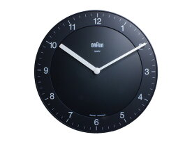 ブラウン BRAUN クオーツ 掛け時計 BNC006BKBK【ポイント10倍】