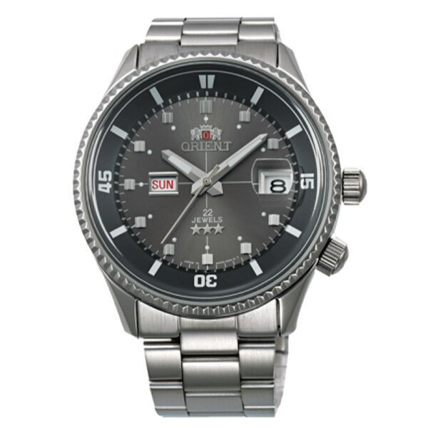 オリエント キングマスター 自動巻き メンズ 腕時計 時計 WV0011AA グレー 国内正規【楽ギフ_包装】【ポイント10倍】