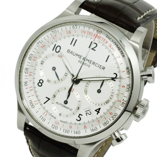 ボーム&メルシェ ケープランド 自動巻き メンズ クロノ 腕時計 MOA10041【送料無料】【楽ギフ_包装】【ポイント10倍】