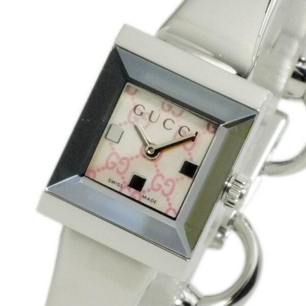 グッチ GUCCI Gフレーム クオーツ レディース 腕時計 YA128516 【送料無料】【楽ギフ_包装】【ポイント10倍】