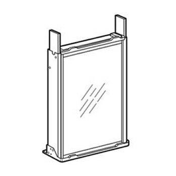 ハイアール 窓用エアコン 延長枠 JA-E16C-W(代引不可)【ポイント10倍】【送料無料】
