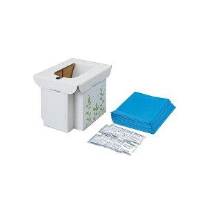 コジット 緊急用組み立て式トイレ 防災用品 非常用トイレ 防災グッズ 簡易トイレ