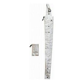 ベストコ 傘カバー 長傘 折り畳み傘対応 長さ82.5cm シルバー ND-883
