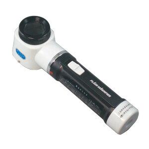 【MIZAR-TEC 】ミザールテック 手持ちルーペ 倍率10倍 レンズ径30mm ライト付 日本製 RF-100 /20点入り(代引き不可)【送料無料】