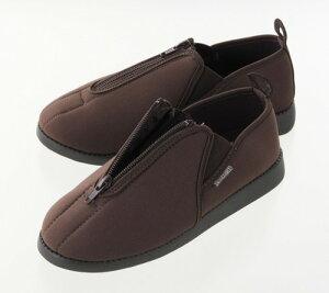 ソフト軽量靴あしかるさんブラウンS/36点入り(代引き不可)【送料無料】