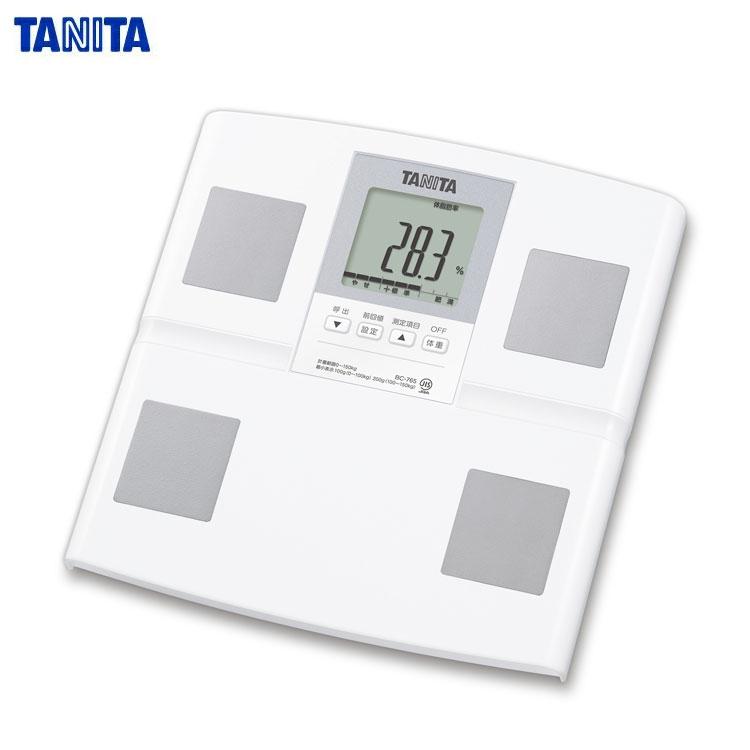 TANITA(タニタ) 体組成計 【乗るピタ機能】BC-756-WH ホワイト【あす楽対応】【ポイント10倍】【送料無料】