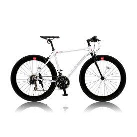 CANOVERR カノーバ— クロスバイク CAC-024 HEBE ホワイト(代引不可)【ポイント10倍】【送料無料】