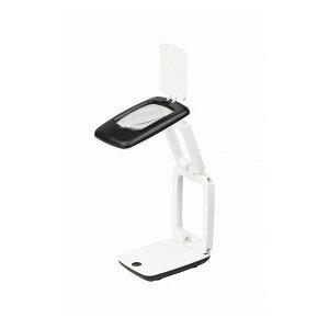 Kenko LED付き卓上コンパクト拡大鏡 KTL-403 ホワイト
