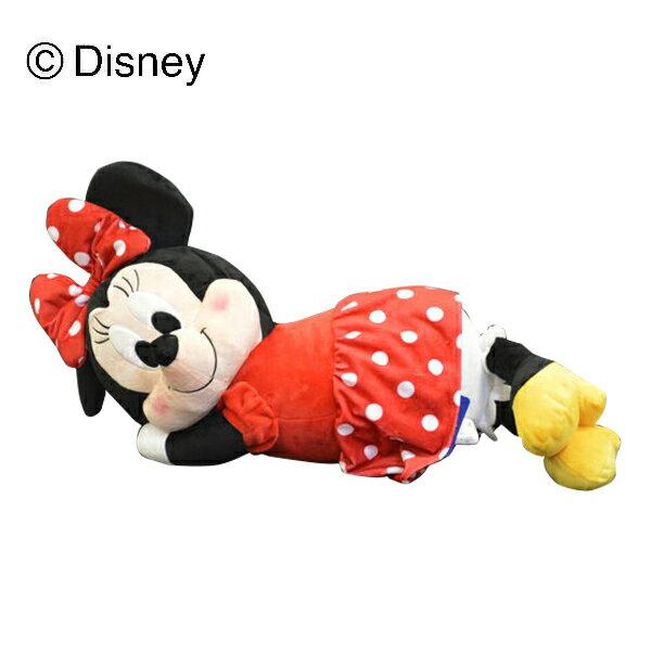 抱き枕 抱きまくら ぬいぐるみ 大きい リラックス 添い寝枕 ミニー ディズニー(代引不可)【ポイント10倍】【送料無料】