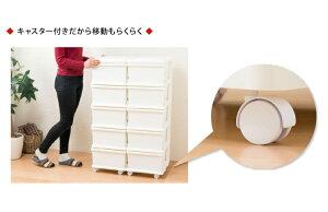 日本製収納ボックス引き出し収納ケースプラスチック引き出し【SIISUNIT】シーズユニット3段(代引不可)【送料無料】【ポイント10倍】