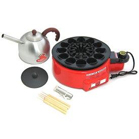 日本製 たこ焼き 工場 トントン たこ焼き機 タコヤキ器 たこやき器 自動回転 ホットプレート電気 1200W 温度調節OKたこ焼き器 (代引不可)【ポイント10倍】【送料無料】