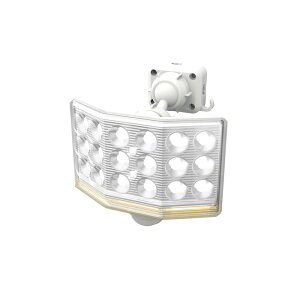 LED センサーライト 防犯 RITEX ライテックス LED-AC1018 リモコン付 ムサシ コンセント式 18W ワイド フリーアーム式 1500ルーメン(代引不可)【送料無料】