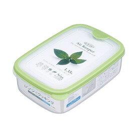 岩崎工業 保存容器 エアキーパー フードケース L グリーン A-032 SG【ポイント10倍】