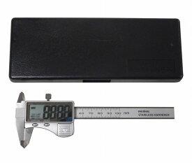 アークランドサカモト グレイトツール(アークランドサカモト) ステンレス製デジタルノギス 極大文字 測定範囲100mm GTDS-100【ポイント10倍】