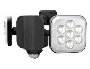 ムサシ RITEX(ライテックス) LEDコンセント式センサーライト 8W×2灯(ハロゲン300W相当) フリーアーム式 LED-AC2016