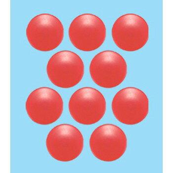 シンワ測定 カラーマグネット Φ30 赤 10ヶ入 ビニ袋入 71816【ポイント10倍】