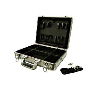 GREATTOOL アルミフレームケース シルバーM GTAM-10MS ハードケース アルミケース ツールボックス 工具箱