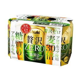 【まとめ買い】 アサヒビール(株) アサヒ クリアアサヒ 贅沢ゼロ 6缶 350X6 x4個セット まとめ お酒 アルコール(代引不可)【送料無料】