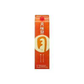 月桂冠(株) 月桂冠 定番酒 つき(月) パック 2L x1(代引不可)