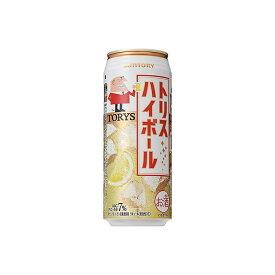 【まとめ買い】 サントリー(株) サントリー トリス ハイボール 缶 500ml x24個セット まとめ セット まとめ売り お酒 アルコール(代引不可)【送料無料】