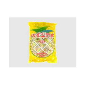 【まとめ買い】パイン パイン飴 袋 1Kg x10個セット まとめ セット セット買い 業務用(代引不可)【送料無料】