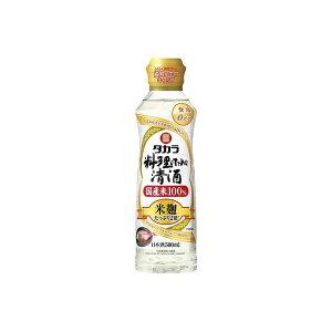 宝酒造(株) 宝 料理のための清酒 米麹双麹仕込 らくらく調節ボトル 500ML x6(代引不可)