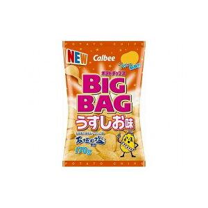 【まとめ買い】 カルビー ポテトチップス BIGBAG うすしお味 170g x12個セット 食品 セット セット販売 まとめ(代引不可)【送料無料】