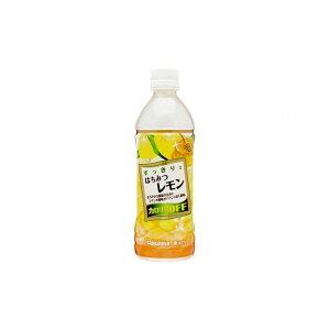 【まとめ買い】サンガリア すっきりはちみつレモン P 500ml x24個セット まとめ セット セット買い 業務用(代引不可)【送料無料】