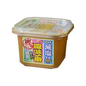 【まとめ買い】ハナマルキ だし入り 風味一番 減塩 750g x6個セット まとめ セット セット買い 業務用(代引不可)【送料無料】
